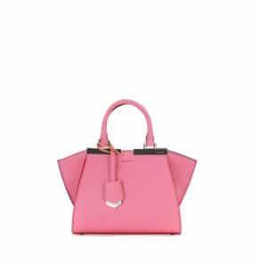 Fendi Pink 3Jours Mini Tote Bag