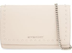 Givenchy Nude Small Studs Pandora Chain Wallet