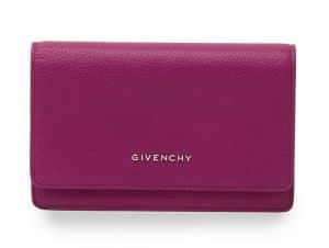 Givenchy Purple Pandora Chain Wallet