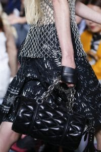 Louis Vuitton Black Malletage Duffel Bag - Spring 2016