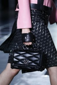 Louis Vuitton Black Malletage Go-14 Bag - Spring 2016