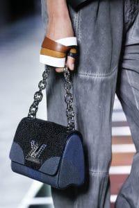 Louis Vuitton Black/Blue Galuchat Twist Bag - Spring 2016