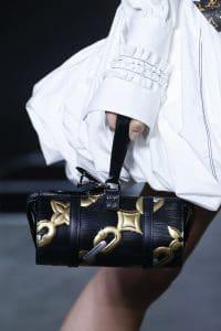 Louis Vuitton Black/Gold Epi Chain Print Duffel Bag - Spring 2016