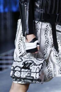 Louis Vuitton Black/White Python Twist Bag - Spring 2016