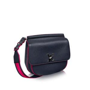 Louis Vuitton Cobalt Fuschia Marceau Bag
