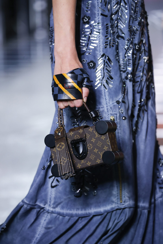 9b0c7585fc28 Louis Vuitton Monogram Canvas Nano Trunk Bag - Spring 2016