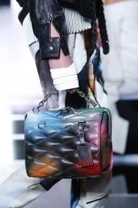 Louis Vuitton Multicolor Malletage Top Handle Bag - Spring 2016