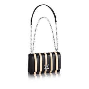 Louis Vuitton Noir/Beige Rayures Go-14 PM Bag