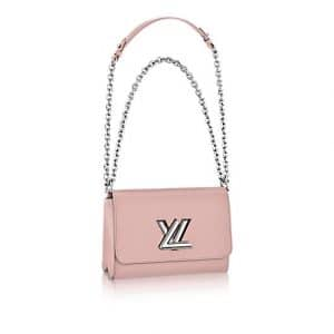 Louis Vuitton Pink Epi Twist MM Bag