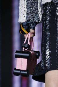 Louis Vuitton Pink/Black Nano Trunk Bag - Spring 2016