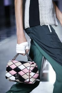 Louis Vuitton Pink/Black/Beige Malletage Go-14 Bag - Spring 2016