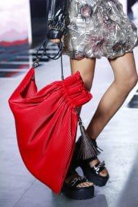 Louis Vuitton Red Drawstring Bag 2 - Spring 2016