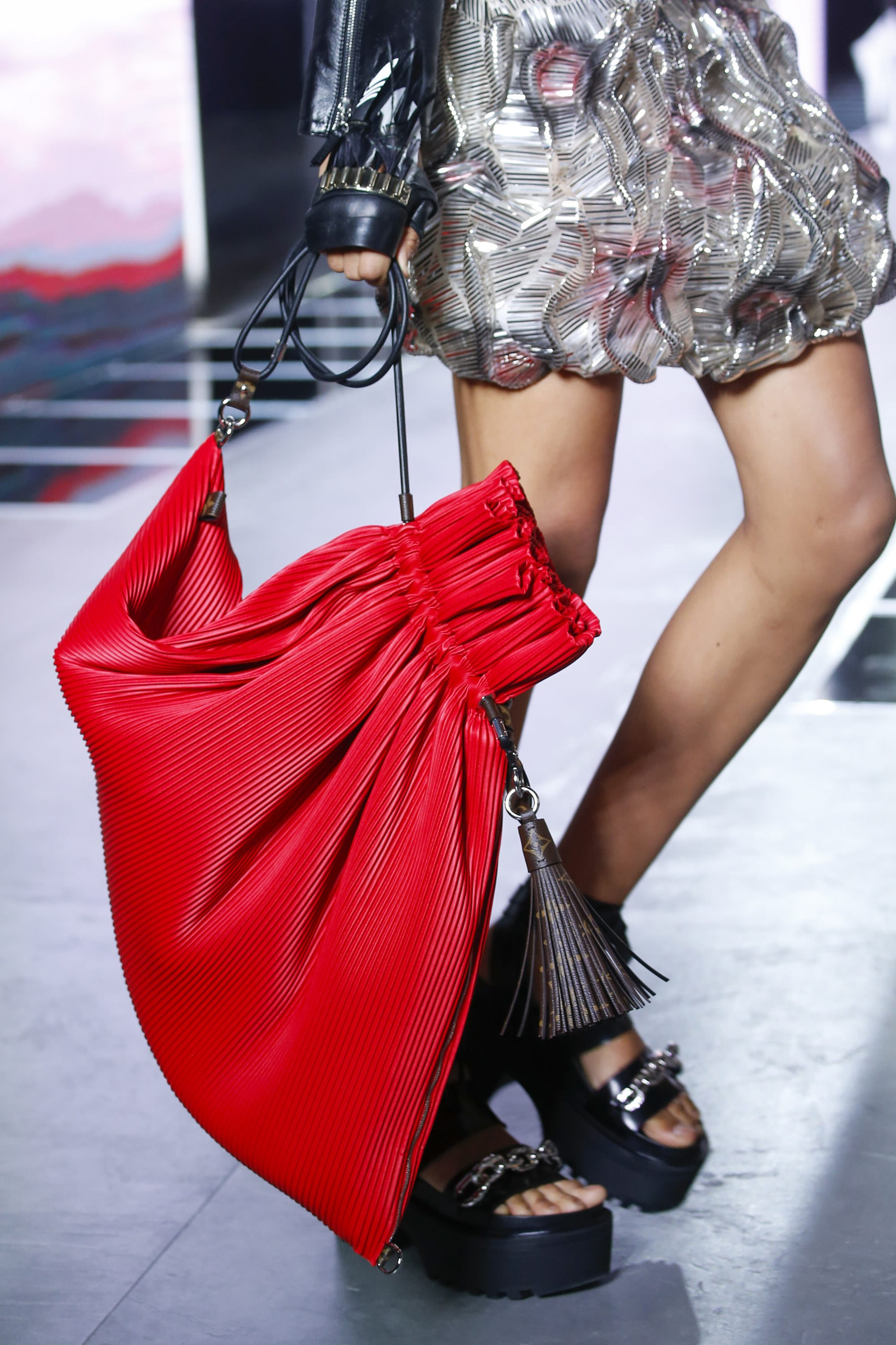 92128898794c Louis Vuitton Spring Summer 2017 Runway Bag Collection Spotted Fashion