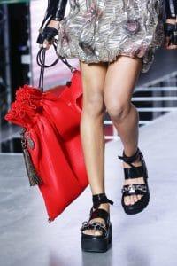 Louis Vuitton Red Drawstring Bag - Spring 2016
