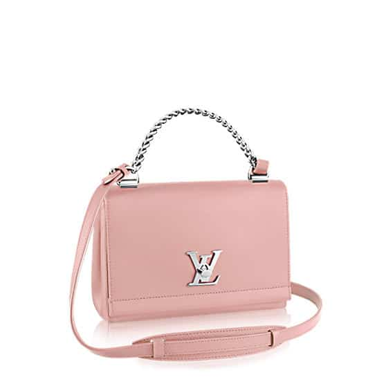 Louis Vuitton Rose Ballerine Lockme II BB Bag