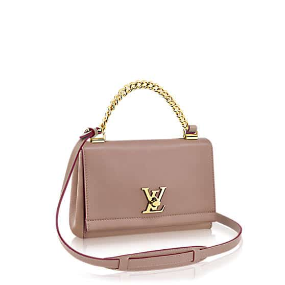 Louis Vuitton Taupe Lockme II BB Bag