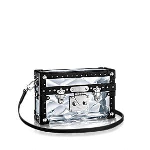 Louis Vuitton Transparent Plexiglass Petite Malle Stellaire Bag