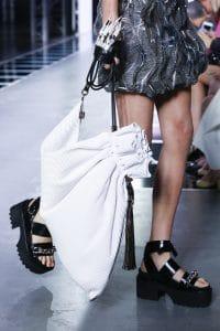 Louis Vuitton White Drawstring Bag - Spring 2016