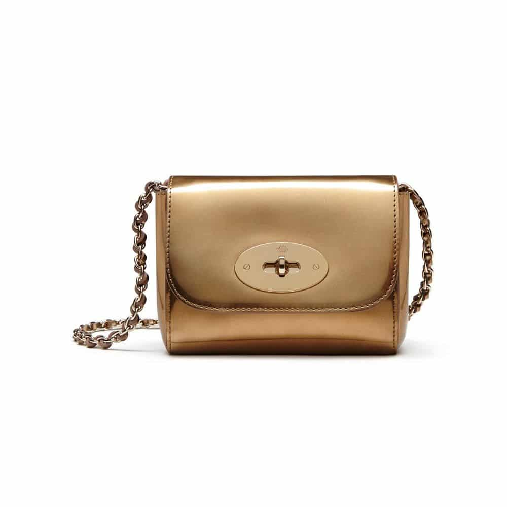 32efcafd60 ... australia mulberry gold mirror metallic leather mini lily bag 534d2  1c151