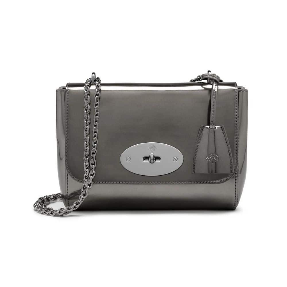 70dc8bc067d3 Mulberry Mirror Metallic Leather Bags Collection For Fall 2015 ...