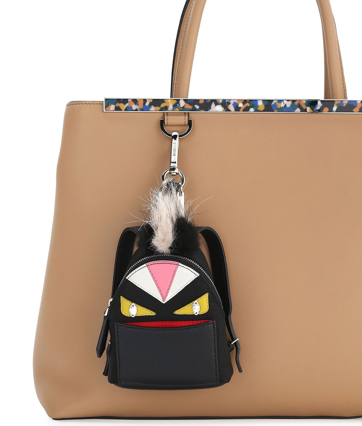Fendi Bag Bugs Backpack Charm - Women