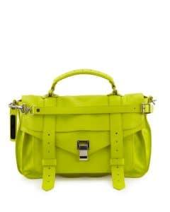 Proenza Schouler Sulfur Lux Leather PS1 Medium Bag