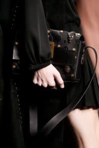 Valentino Black Embellished Flap Bag 2 - Spring 2016