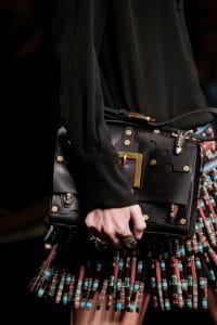 Valentino Black Embellished Flap Bag 3 - Spring 2016