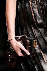 Valentino Black Embellished Mini Flap Bag - Spring 2016