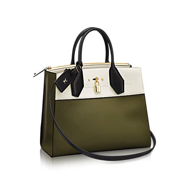 louis vuitton bags price. louis vuitton city steamer pm bag in bicolor white bags price o
