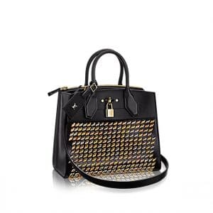 Louis Vuitton Studded PM City Steamer Bag
