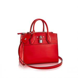 Louis Vuitton City Steamer PM Red Bag