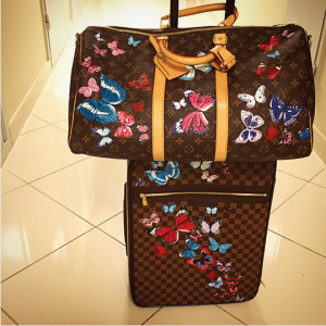 Artburo x Louis Vuitton Keepall and Pegase Bags