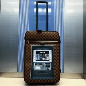 Artburo x Louis Vuitton Pegase Bag