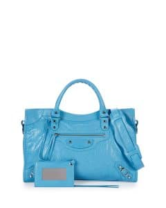 Balenciaga Bright Blue Classic City Bag