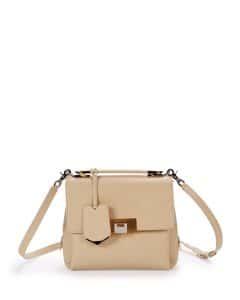 Balenciaga Ivory Le Dix Mini Satchel Bag