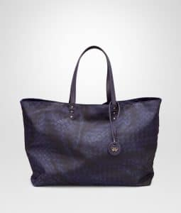 Bottega Veneta Atlantic Intrecciolusion Tote Medium Bag