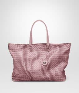 Bottega Veneta Mallow Intrecciolusion Tote Medium Bag