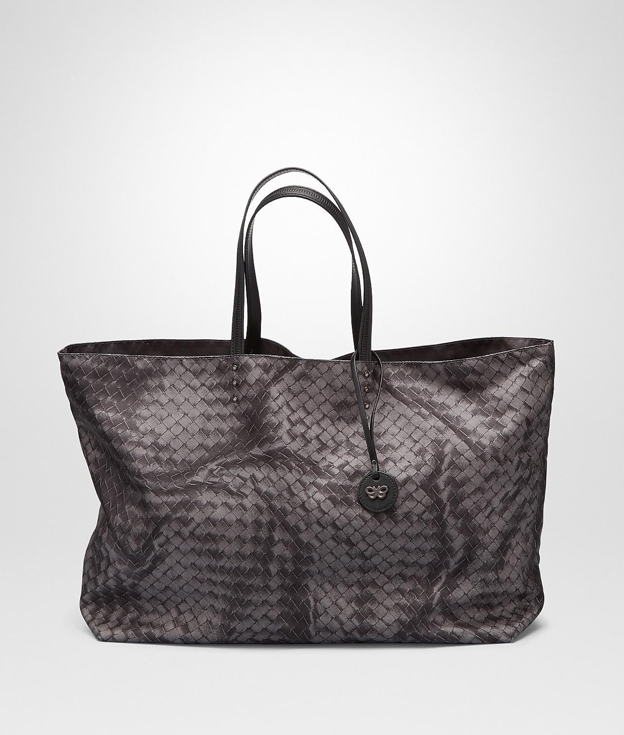 Bottega Veneta New Light Grey Intrecciolusion Tote Large Bag 3d0f8d3a144da