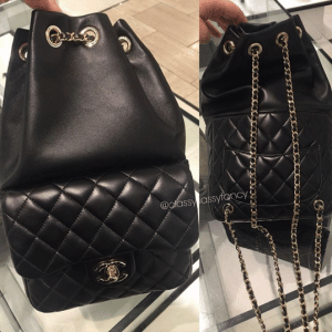 Chanel Black Backpack In Seoul Small Bag