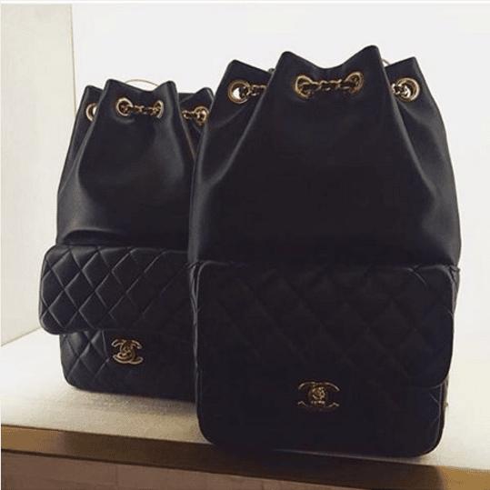 4609b96f6ef1 Chanel Black Backpack In Seoul Small Bags. IG  vipaccessori