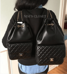Chanel Black Backpack In Seoul Small and Large Bags 2
