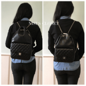 Chanel Black Backpack In Seoul Small and Large Bags 3
