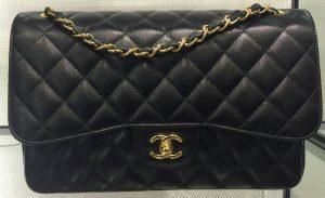8fd033930086 ... Chanel Black Classic Flap Medium Bag - Cruise 2016 ...