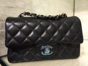 133be1382198 Chanel Black Classic Flap Mini Bag 2 - Cruise 2016 ...