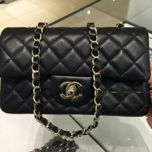 6ee07d03a7d9 ... Chanel Black Classic Flap Small Bag - Cruise 2016