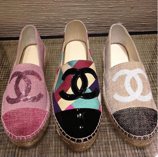 Chanel Cruise 2016 Espadrilles Spotted Fashion