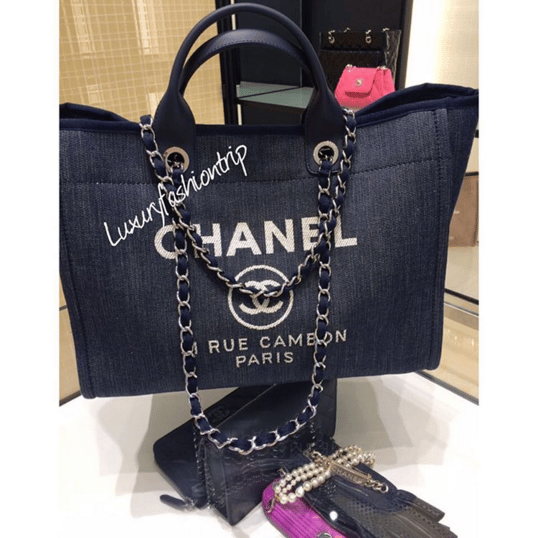 4cc847d8b262 Chanel Deauville Bag available in Messenger style for Cruise 2016 ...
