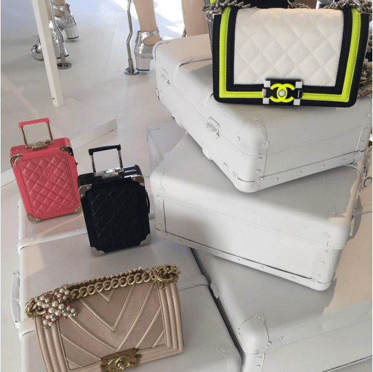 Chanel Mini Suitcase Clutch and Boy Flap Bags - Spring 2016