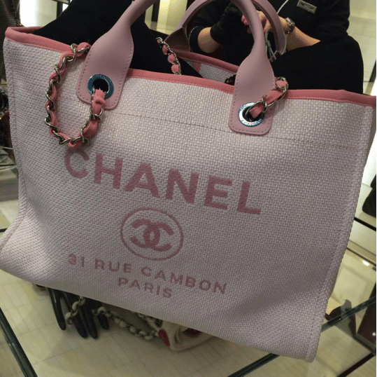 521129326040 Chanel Deauville Bag available in Messenger style for Cruise 2016 ...